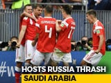 Video : FIFA World Cup: Russia Thump Saudi Arabia 5-0 In Tournament Opener