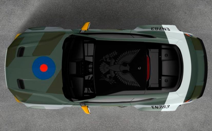 The Eagle Squadron Mustang GT will be auctioned off to support the EAA Young Eagles charity on July 26