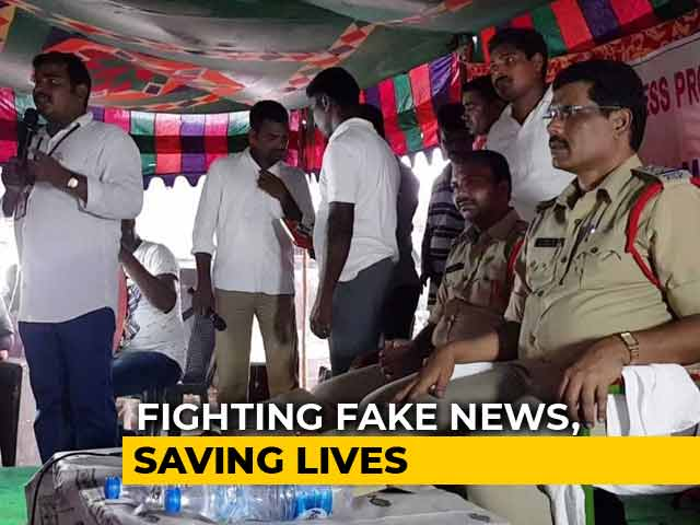 Video : Top Officer's Efforts Help Prevent Mob Violence In Telangana Villages