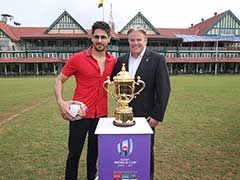 Rugby World Cup Arrives In Mumbai Ahead Of Tournament Next Year