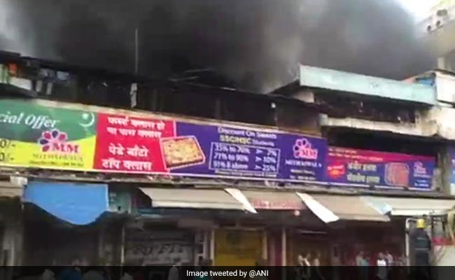 Fire Breaks Out At A Shop In Mumbai, No Casualty Reported