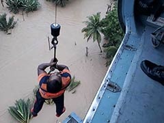 38 Helicopters, Hundreds Of Boats Being Used For Rescue Ops In Kerala