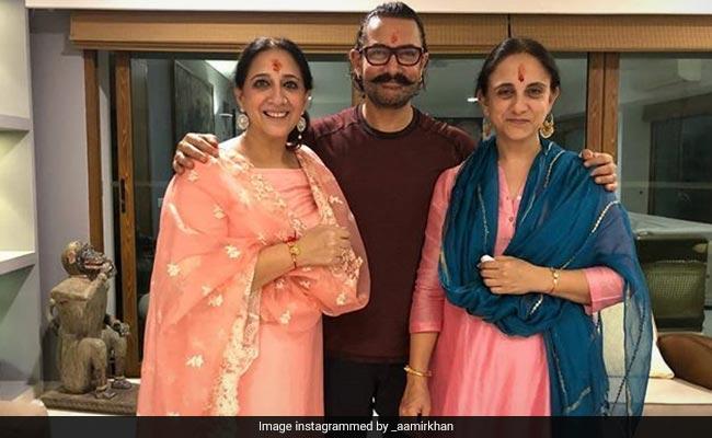 आमिर खान ने तोड़ डाली रक्षा बंधन की प्राचीन परंपरा, कर डाला ऐसा काम...Photo हो रहीं वायरल