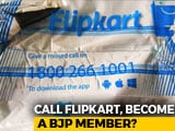 Video : Kolkata Man Dialled Flipkart To Complain About Order, Got SMS To Join BJP