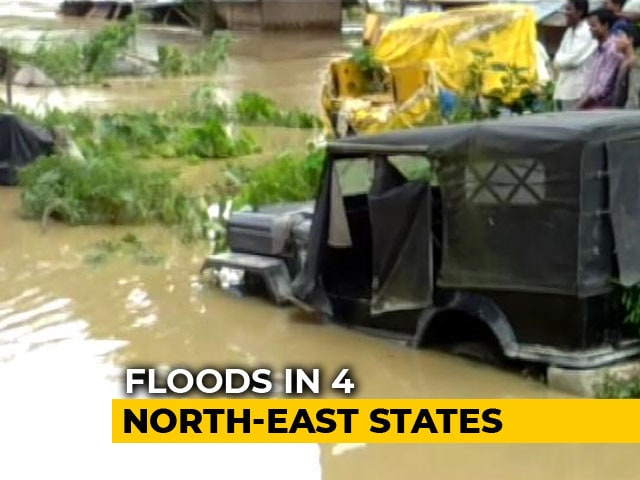 Video : 6 Dead In Flash Floods, Landslides In Tripura, Manipur, Assam