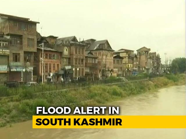 Video : After Flood Alert In Kashmir, Residents Prepare To Face The Worst