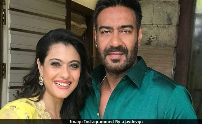 Ajay Devgn Posted This Pic With Wife Kajol On 'Popular Demand,' BTW