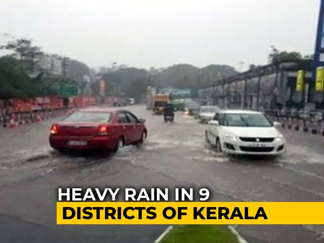 Video : Heavy Rains Pound Kerala As Idukki Dam Water Inches Closer To Code Red