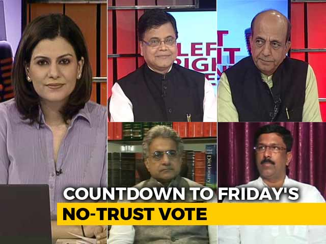 Video : Opposition's No-Trust Motion: PM Modi's Show Of Strength?