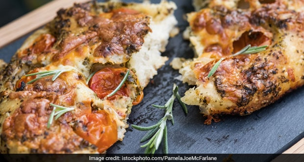 Focaccia Bread Recipe Ndtv Food