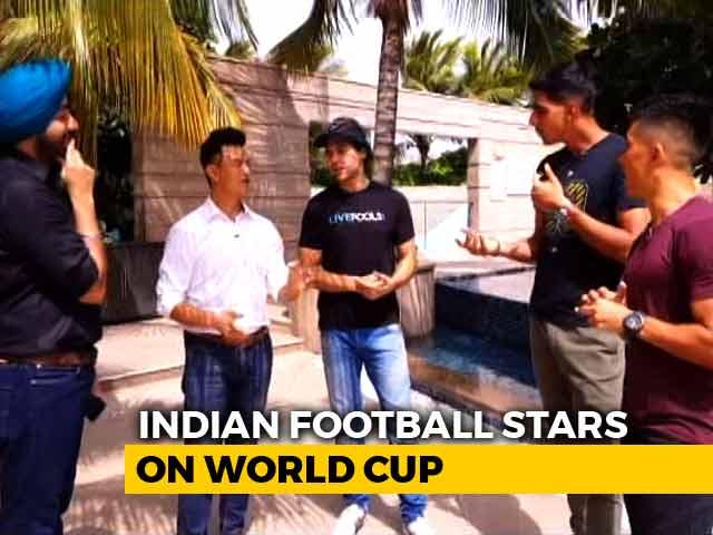 Video : Sunil Chhetri, Bhaichung Bhutia Pick Their FIFA World Cup 2018 Favourites