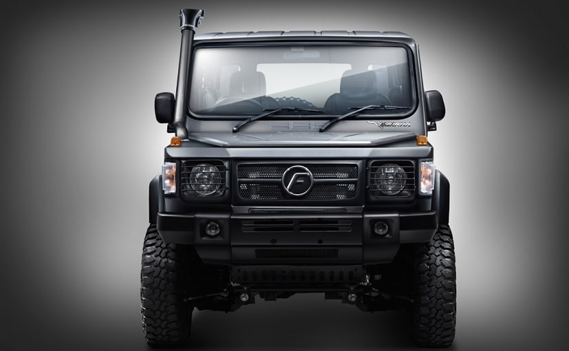 The upcoming Force Gurkha Xtreme is essentially based on the existing Gurkha Xplorer