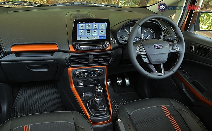 ford ecosport s cabin