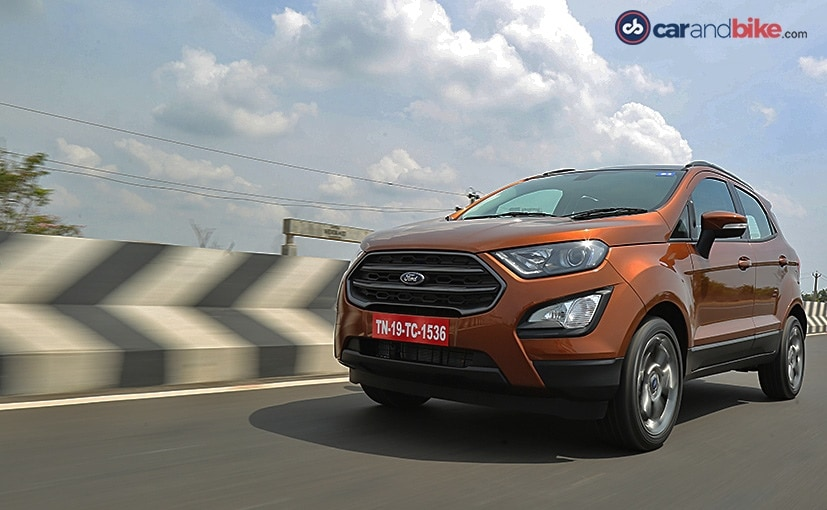 The new Ford EcoSport S with the EcoBoost engine now come mated to a new 6-speed manual gearbox