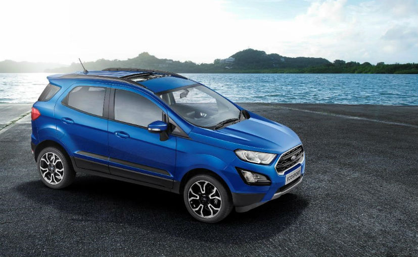 The EcoSport Signature does not get the 1.0-litre EcoBoost engine like the EcoSport S