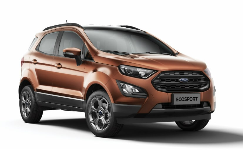 The prices for the Ford EcoSport S start at Rs. 11.37 lakh