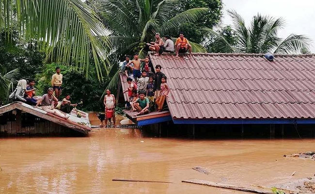 Dozens Feared Dead, Rescuers Search For Missing After Laos Dam Collapse