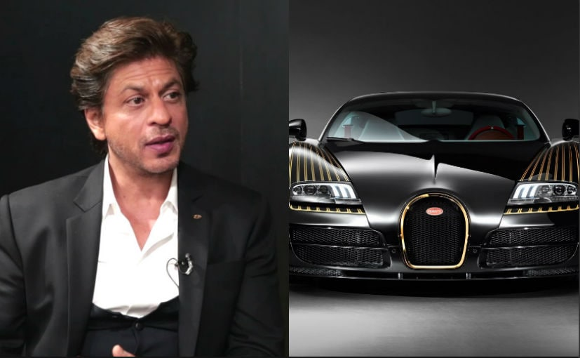 Does SRK Really Own The Bugatti Veyron? Here's What The Actor Says