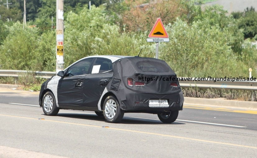 Next Gen Hyundai Grand I10 Spotted Testing In Korea Ndtv Carandbike