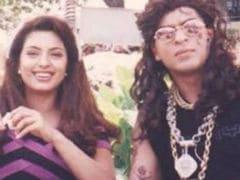 Yes, That's Shah Rukh Khan In Juhi Chawla's Epic Throwback Pic