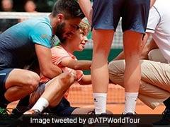 VIDEO: टेनिस मैच में अचानक खिलाड़ी से भिड़ा बॉल बॉय, देखें क्या हुआ फिर