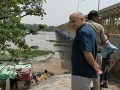 Manish Sisodia Visits Low-Lying Areas, As Yamuna Rises Above Danger Mark