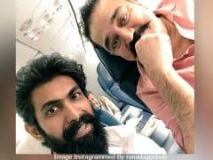 Vishwaroopam 2 Star Kamal Haasan's Pic With Rana Daggubati Trends