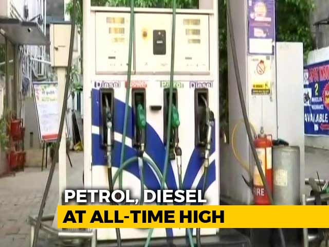 Video : Petrol, Diesel Prices Raised Again, Up Over Rs. 2 Per Litre In 9 Days
