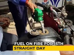 Video: Petrol, Diesel Prices Hiked For 15th Day In A Row