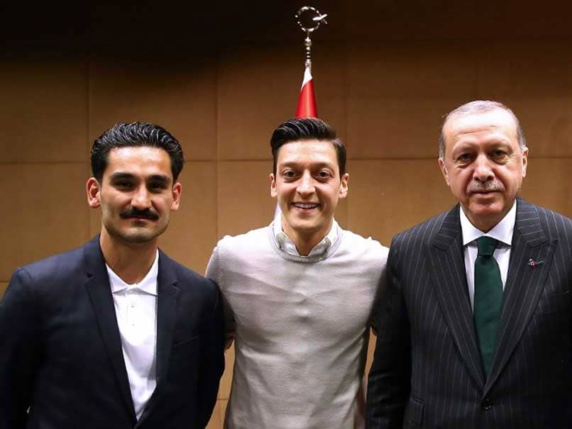 Mesut Ozil Defends Controversial Picture With Turkish President Recep Erdogan