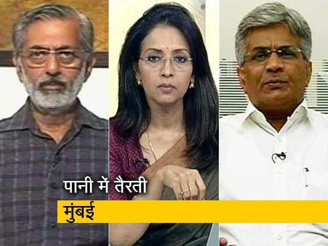 Video : प्राइम टाइम: क्या बारिश में मुंबई ऐसे ही बदहाल रहेगी?