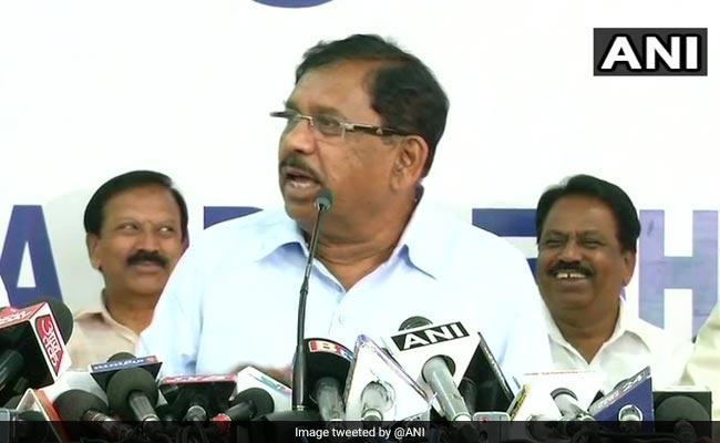 कर्नाटक के उपमुख्यमंत्री ने बीजेपी पर लगाया ईवीएम से छेड़छाड़ का आरोप