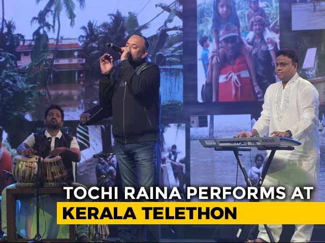 Video: Tochi Raina's Kabira Lights Up #IndiaForKerala Telethon