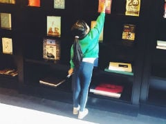 Twinkle Khanna And Daughter Nitara Chanced Upon Their Favourite Book In London