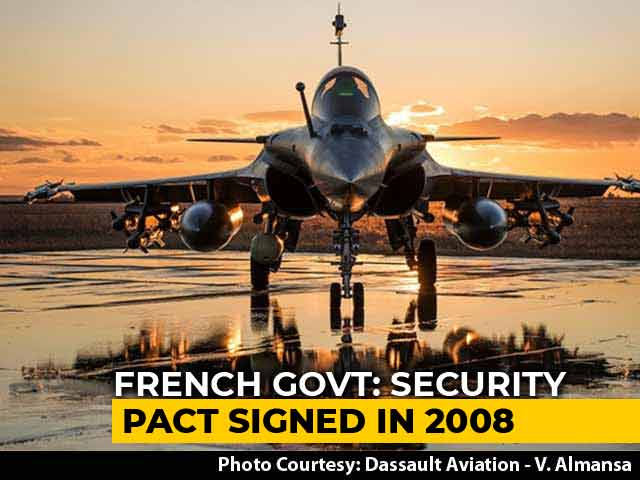 Video : Rafale Deal Details Classified: France After Rahul Gandhi's Attack On PM