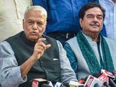 यशवंत सिन्हा ने किया पीएम मोदी पर हमला, कहा- यह सरकार सिर्फ दो लोंगों की सरकार