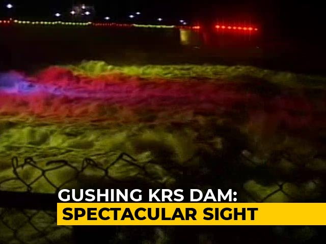 Video : As Water In KRS Dam Reach Full Height, Relief For Karnataka Farmers