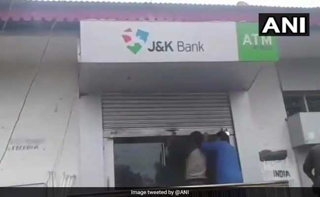 Policeman Arrested In Jammu And Kashmir For Theft At 11 ATMs
