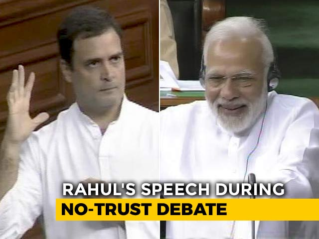 Video : Why PM Modi Laughed During Rahul Gandhi's Speech