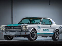 1965 Ford Mustang Autonomous Car Gets Ready To Take On Goodwood Festival Of Speed