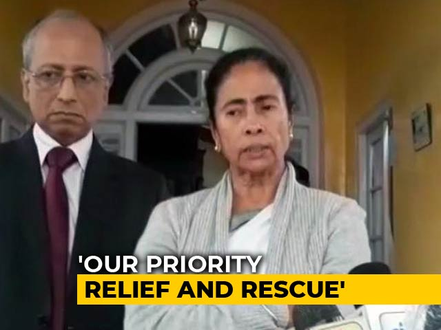 "Video : ""No Flights Today, Can't Return,"" Mamata Banerjee After Bridge Collapse"