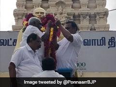 BJP, Congress Workers Fight Over Garlanding Kamaraj Statue In Salem