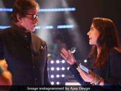 Kajol's <i>Helicopter Eela</i> Director Films Cameo With Amitabh Bachchan Despite Dengue