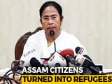 "Video : ""Divide-And-Rule"": Mamata Banerjee Slams Assam's Draft Citizens' List"