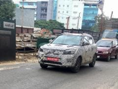 New Mahindra S201 Spy Shots Reveal Production Headlamps