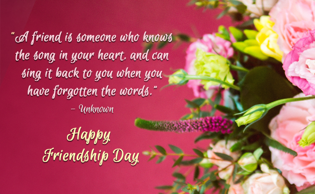 Image of: Best Friend Friendship Day 2018 This Is The Perfect Day To Celebrate Your Love For Your Best Friend Quote Ideas Happy Friendship Day 2018 10 Quotes On Friendship To Make Your