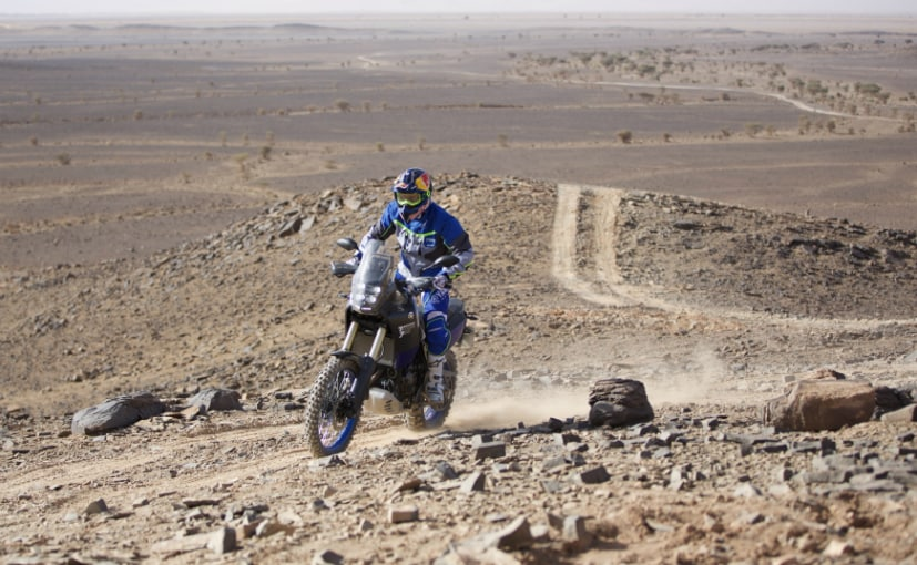 The Yamaha Tenere 700 has been ridden in Morocco, tracing the route of the original Dakar Rally