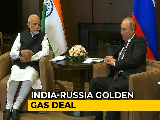 Video : Russia's Gazprom Starts Supplying LNG To India As First Shipment Arrives