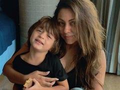 Shah Rukh Khan's Son AbRam Turns 5. See Mom Gauri's Adorable Birthday Post
