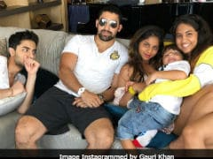 Seen Suhana And AbRam's Happy Pic With Cousins Alia And Arjun Yet? (Courtesy, Gauri Khan)